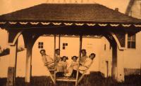Girls at the Gazebo, Sabbathday Lake