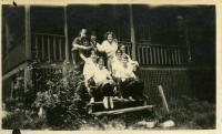 Outing Club, Farmington State Normal School, ca. 1923