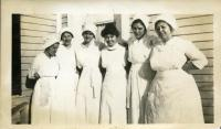 Home Economics students, Farmington State Normal School, ca. 1916