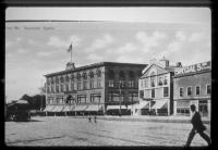 Haymarket Square in Lewiston circa 1900