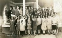 Home Economics Class, Farmington State Normal School, 1927