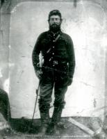 Pvt. Abner H. Foster, Union soldier, ca. 1864
