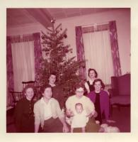 Home Ec Christmas, Farmington State Teachers College, 1957