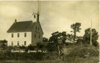 Aurora Grange Hall, Strong, ca. 1910