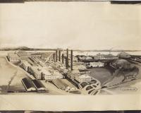 Drawing of Eastern Fine Paper, Brewer, 1921