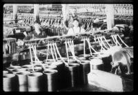 Workers at textile mill, Lewiston, ca. 1900