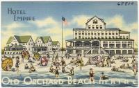 Hotel Empire, Old Orchard Beach, ca. 1938