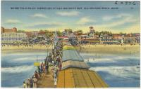 White Way, Old Orchard Beach, ca. 1938