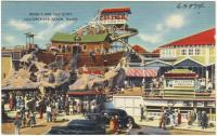 Noah's Ark and slide, Old Orchard Beach, ca. 1938