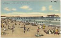 Bathing beach, Old Orchard Beach, ca. 1938