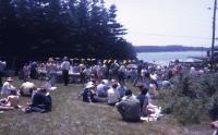 Fourth of July lobster bake, Swan's Island  ca. 1960