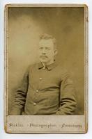Charles W. Cole in Civil War uniform