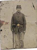 Civil War infantry soldier, ca. 1862