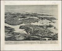 Bird's eye view, Vinalhaven, 1893