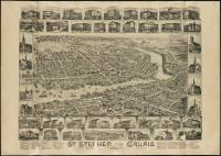 St. Stephen, New Brunswick, and Calais, 1889