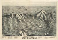 Birds eye view of the White Mountains, 1890