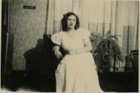 Phyllis Stinson, Swan's Island, ca. 1945