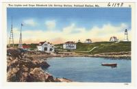 Two Lights, Cape Elizabeth, ca. 1938