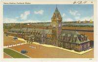 Union Station, Portland,  ca. 1938
