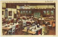 Danish Tea Room, Eastland Hotel, Portland, ca. 1938