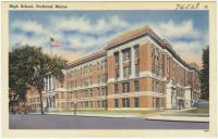 Portland High School, ca. 1938