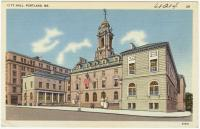 City Hall, Portland, ca. 1938