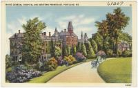 Maine General Hospital, Portland, ca. 1938
