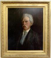 Painting of Hermann Kotzschmar, Portland, 1895