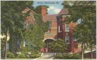 Public library, Skowhegan, ca. 1938