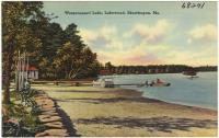Wesserunsett Lake, Madison, ca. 1938