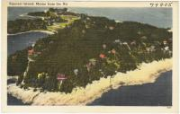 Aerial view of Squirrel Island, ca. 1938
