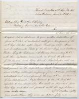 Col. William Kimball report on capture of battery, New Orleans, 1862