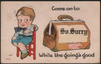 Come on to South Surry, 1915