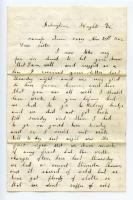 Pvt. Charles Cole to family, Arlington, Va., 1862