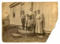 Swampville School, Otisfield,  ca. 1910