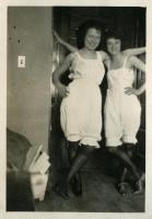 Girls in bloomers, Farmington State Normal School, ca. 1922
