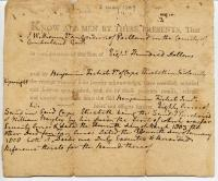 Deed of land in Cape Elizabeth