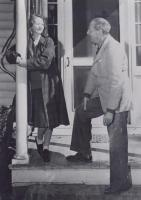 Edna St. Vincent Millary and Eugen Boissevain, Austerlitz, NY, 1945