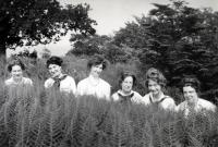 Edna St. Vincent Millay and friends, Rockport, 1912