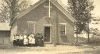 Gore School, Otisfield, ca. 1918