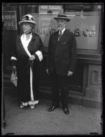 Cyrus H.K. and wife Kate Curtis, Portland, ca. 1924