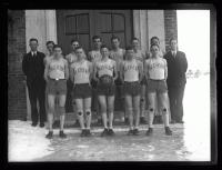 Deering High School boys basketball team, Portland, 1926