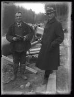 Construction supervisors, Sebago Lake, 1924
