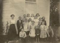 East Otisfield School, Otisfield, ca. 1910