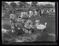Baby carriage parade winners, Deering Oaks, 1924