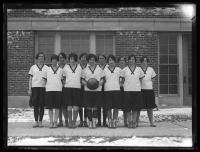 Women's basketball team, South Portland High School, 1926