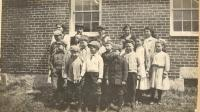 Spurrs Corner School, Otisfield, ca. 1910
