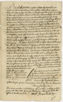 Deed from Warrabitta and Nanateonett to George Munjoy, 1666