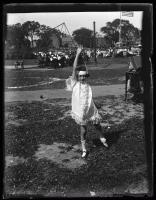 Annette Glenn, Deering Oaks, Portland, 1924