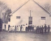 Rayville School, Otisfield, about 1915